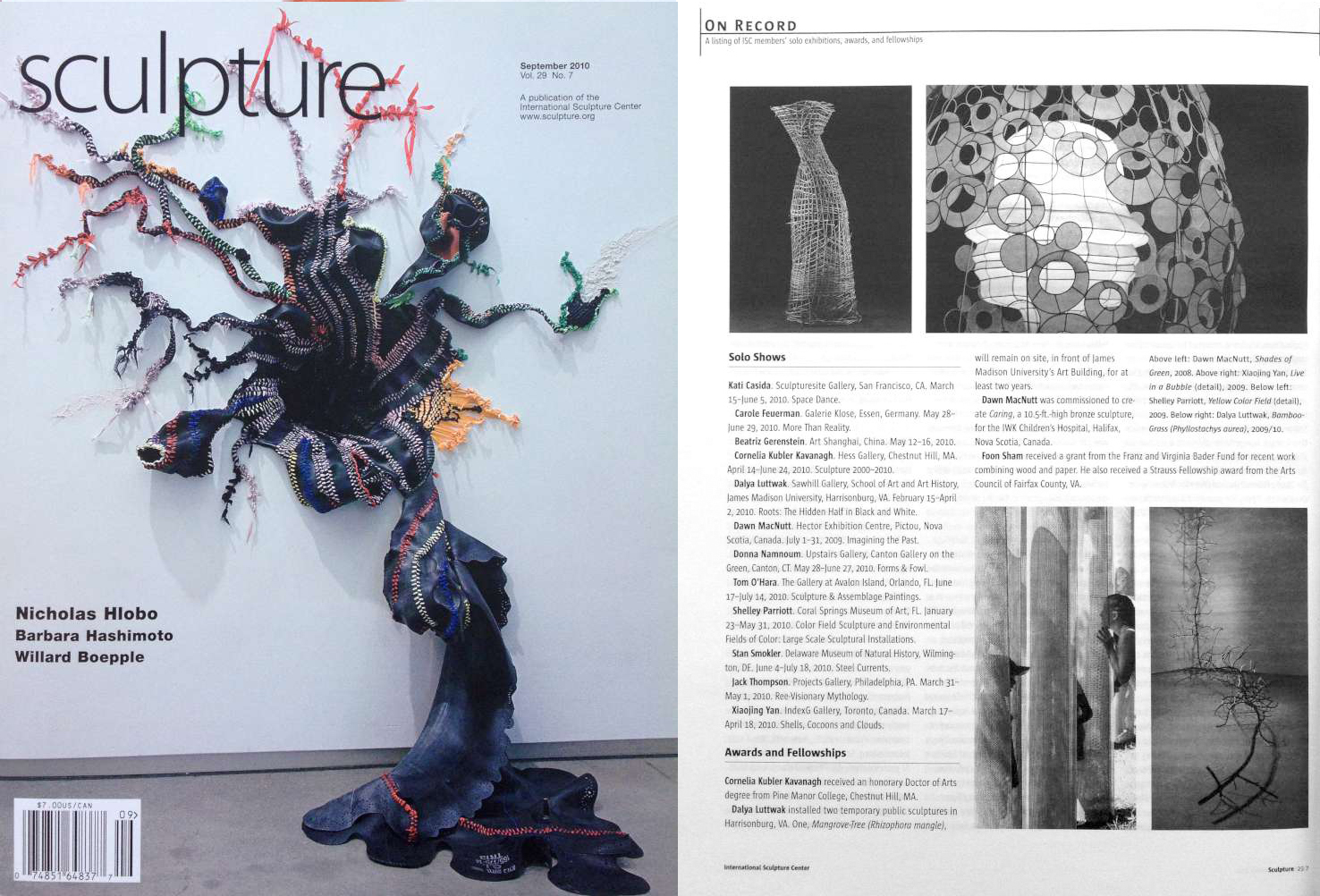 sculpture magazine_2010_09